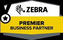 Zebra Premier Business Partner Logo